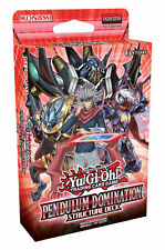 Pendulum Domination Structure Deck - Yu-Gi-Oh New Sealed