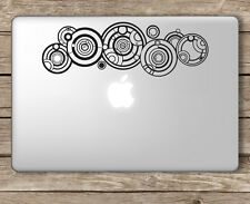 Doctor Who Name Gallifreyan Dr. Who - Apple Macbook Laptop Vinyl Sticker Decal