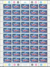 CHRISTMAS ISLAND SC#189/93 COMPLETE SHEET OF 50 MINT NH