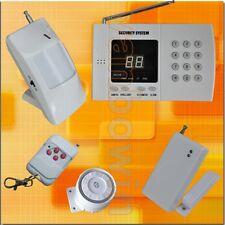 315MHz Wireless Smart Home Security Burglar Alarm System Auto Dialer w Battery