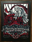 "BLACK SABBATH ""THE END"" POSTER CALGARY 2016 MASTHAY STUDIO"