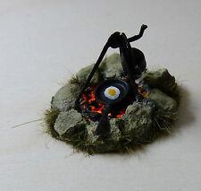 Diorama Zubehör Maßstab 1/32, Lagerfeuer, Camp Fire