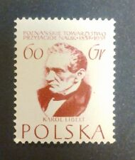 POLAND STAMPS MNH Fi888 Sc794 Mi1033 - Society of Science, 1957, clean
