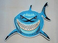 "FINDING NEMO ""BRUCE"" THE BELOVED SHARK 5"" TALL X 4"" WIDE PATCH"