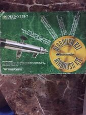 New Badger 1757 Crescendo Pro Model 175-7 Airbrush (Air-Brush) Set