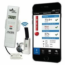 926-25104-WGB La Crosse Alerts Mobile™ Remote Water Leak Detector with Temp/Hum