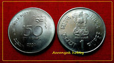 1 RUPEE 2004 INDIA POST UNC COIN FROM KOLKATA MINT