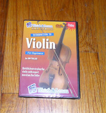 WATCH & LEARN INTRODUCTION TO VIOLIN  FOR BEGINNERS DVD VIDEO