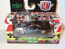 M2 MACHINES WILD CARDS WC06 BLACK PLYMOUTH CUDA 383 LIMITED EDITION PREMIUM
