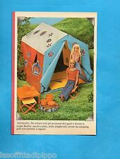 TOP975-PUBBLICITA'/ADVERTISING-1975- MATTEL - LA TENDA DI BARBIE E KEN