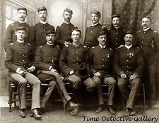 Officers of the 9th Cavalry, South Dakota - 1891 - Historic Photo Print