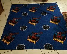 """Spiderman Blanket Super Soft Officially Licensed by  72""""x 88""""  EUC"""