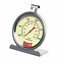 MASTERCLASS Stainless Steel Oven Thermometer. Baking/Roasting/Cake Making.