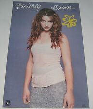 Britney Spears #9027_1999_STILL SEALED_RARE PROMO POSTER_ships from AUS_35b