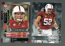 2012 Fleer Retro Metal Universe RC david decastro #M-84 STANFORD / STEELERS