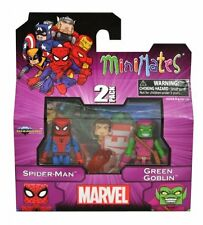 MiniMates Marvel Best Series 1 Spider-Man & Green Goblin Figure Set New MIB Mint