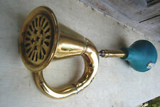BRASS CAR HORN BIKE BUS BULLET BIG TAXI CLOWN BULB HORN BUGLE NEW Loud sound