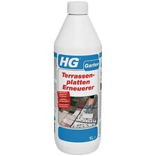 HG 1 Liter Terrassenplatten Erneuerer Fliesen Beton Kiesfliesen Verschmutzung