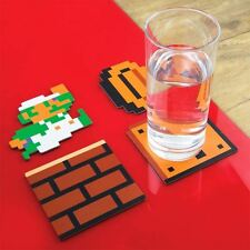 Set of 20 Super Mario Bros. Official Collectors Edition Drinks Coasters