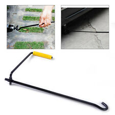 Black Steel Car Van Tire Wheel Lug Wrench Scissor Jack Crank Speed Handle Tool