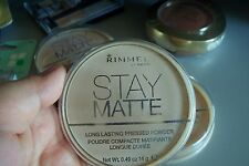 SALE New Uploads!Imported  FROM US Authentic Rimmel Stay Matte Pressed Powder