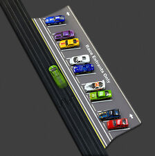 1:64 Scale Slot Car HO Parking Lot and Staging Area 2ft long Accessory PL1010