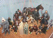 "Lord of the rings lot horse NLP marvel 2002 6.5""Deluxe Aragorn& Brego smeagol"
