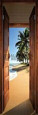 BEACH DOOR SUNRISE DOOR POSTER (53x158cm)  NEW WALL ART