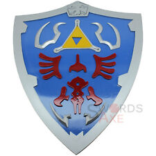 Legend of Zelda Link Wooden Heater Shield LARP Weapon Cosplay Breath the Wild