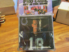 PEYTON MANNING PRO CUBE MAKE S 9 DIFF PICTURES PAPER WEIGHT SUPER NICE