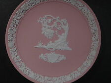 """Wedgwood 1983 VALENTINE  DAY PINK PLATE 6 1/2"""""""