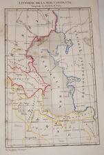 RUSSIE-CARTE MER CASPIENNE  1838