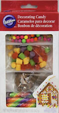 Christmas Bright Gingerbread House Decorating Candy from Wilton #3486 - NEW