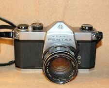 Asahi Pentax SP 500 35mm Film Camera Asahi Optical Super Takumar 1:2/55 Lens