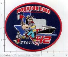 Texas - Houston Station 42 TX Fire Dept Patch v2 - Popeye