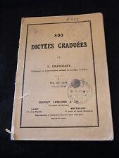 Partition 500 Dictées Graduées L Grandjany Music Sheet