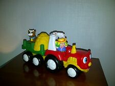 LITTLE PEOPLE - Tracteur Musical avec personnages - FISHER PRICE M1280 - Ferme
