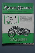 R&L Mag: Motor Cycling Apr 21 1955 BSA Golden Flash Tour/Jack Emerson/Mopeds