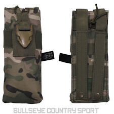 Max Fuchs Large Gps Radio Pouch Operation Camo Molle Multicam Airsoft Comms