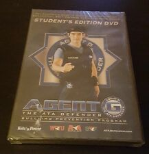 Agent G: The ATA Defender - Bullying Prevention Program (DVD) kids guide NEW