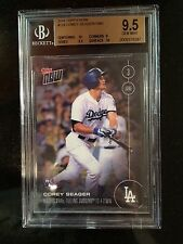 2016 Topps Now /1900 Corey Seager #124 BGS 9.5 ROY RC -GREAT GRADE