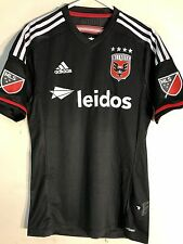 Adidas Authentic MLS Jersey D.C. United Team Black sz M