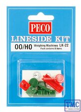 LK-22 Peco OO/HO Gauge Weighing Machines 2 personnel and 2 parcel types