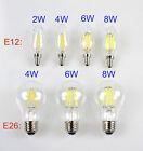 E12 E26 110V 2W 4W 6W 8W Retro Vintage Filament LED Candelabra/Globe Light Bulb