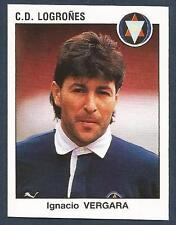 PANINI FUTBOL 93-94 SPANISH -#141-C.D.LOGRONES-IGNACIO VERGARA
