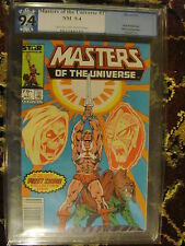 Masters of the Universe #1 (May 1986, Marvel) PGX 9.4 (NM) Cream/Off White Pgs.