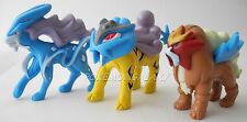 Pokemon Figur - SUICUNE + ENTEI + RAIKOU - Neu