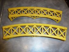 2X SECTIONS OF LIMA CURVED BRIDGE PIERS H0 / 00 GAUGE