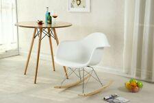 Eames Rocking Chair Retro Rocker Modern Furniture Cradle Infant Baby Nursery Arm
