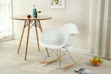 Eames Rocking Chair Retro Rocker Modern Furniture Cradle Infant Baby Nursery Arm